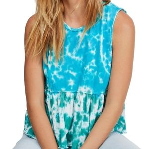 NWT Free People We The Free Tie Dye Anytime Tank